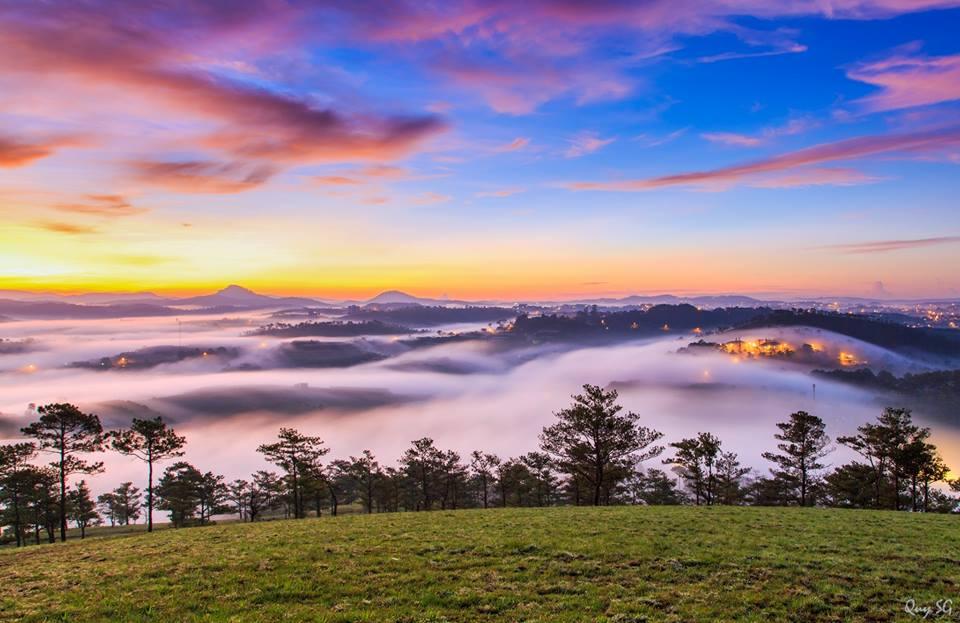 Đà Lạt thành phố sương mù- thiên đường xứ sở tình yêu