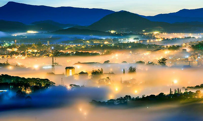Đắm say sương mù Đà Lạt