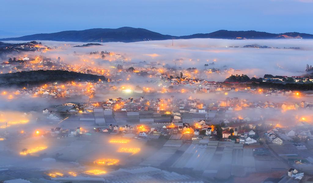 Khí hậu Đà Lạt- thành phố sương mù