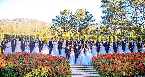 Chụp ảnh cưới ở Thung Lũng Tình Yêu