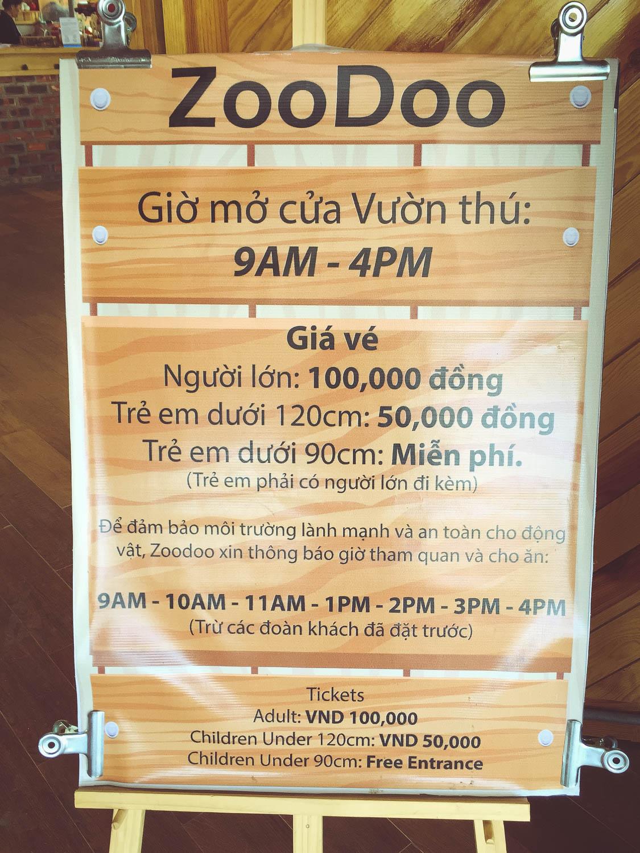Sở thú Zoodoo ở Đà Lạt mở cửa