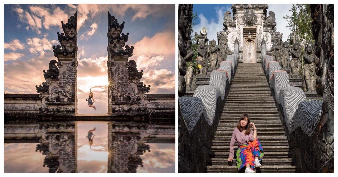 Lạc lối cổng trời Bali Đà Lạt