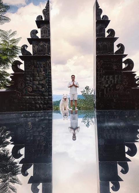 Cổng trời sống ảo Bali ở Đà Lạt