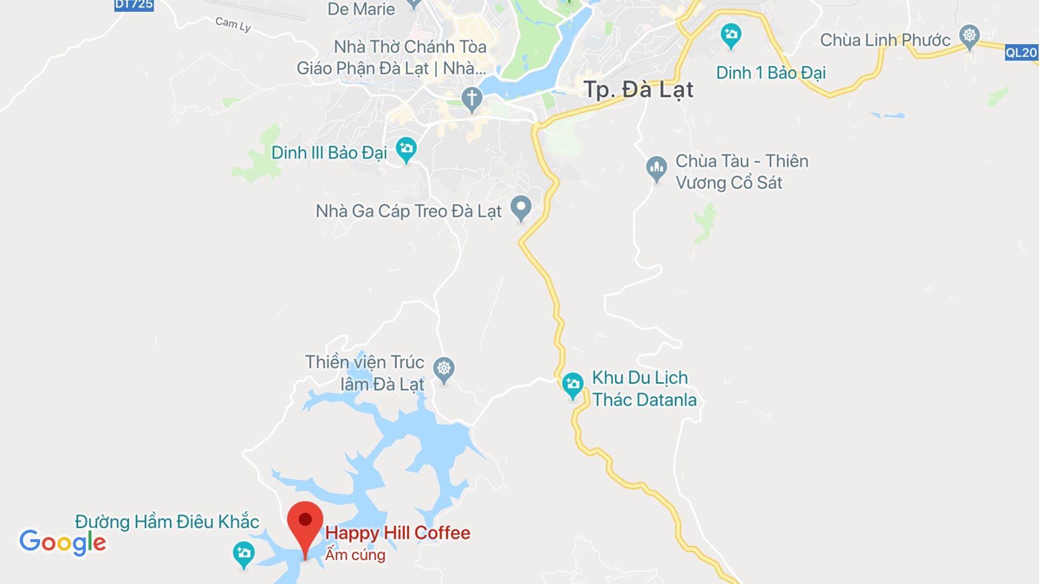 Địa điểm du lịch gần Happy Hill