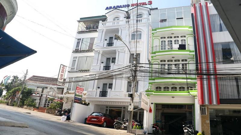 Khách sạn Arapang Đà Lạt.