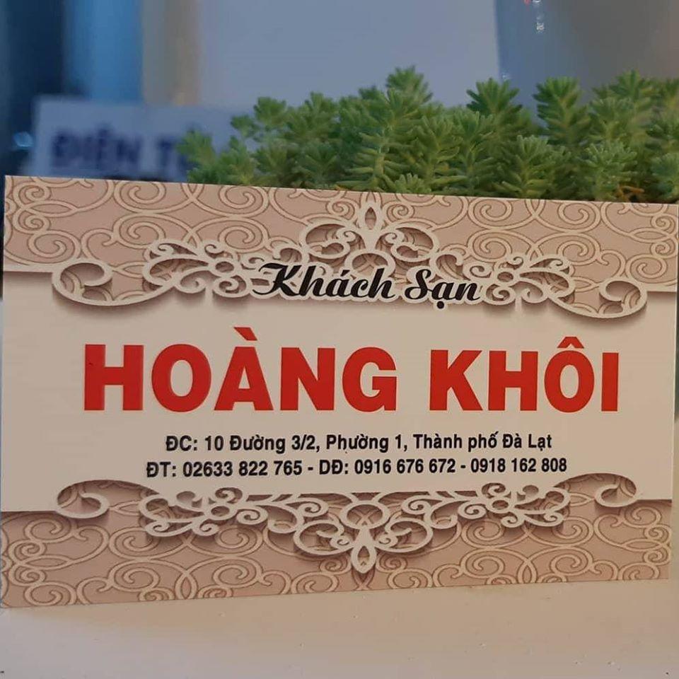 Khách sạn Hoàng Khôi Đà Lạt