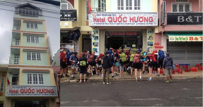 Khách sạn Quốc Hương Đà lạt.